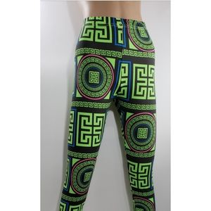 Women Geometric Print Leggings Tights Pants